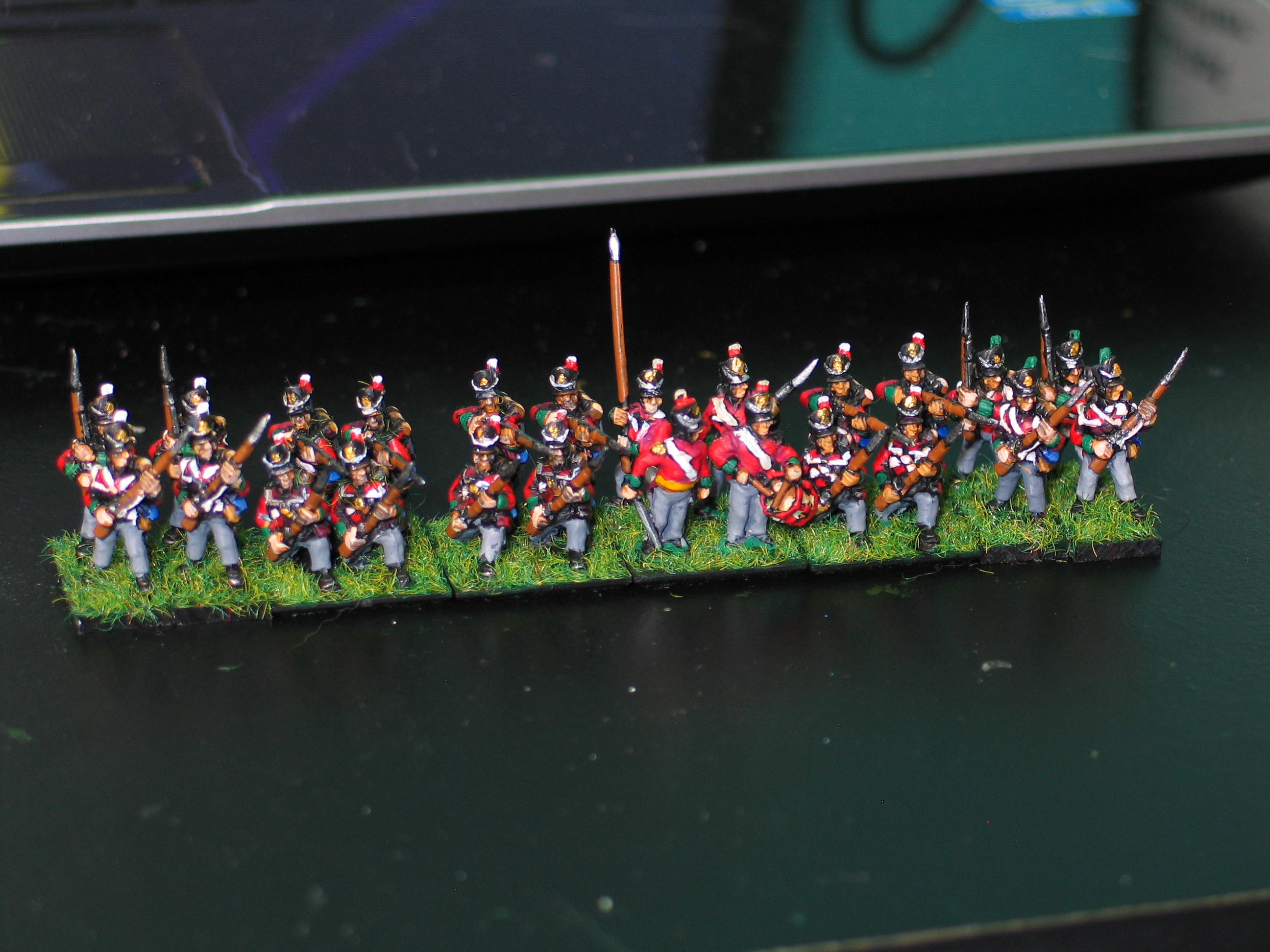 British Line Infantry c. 1814 - Line Formation