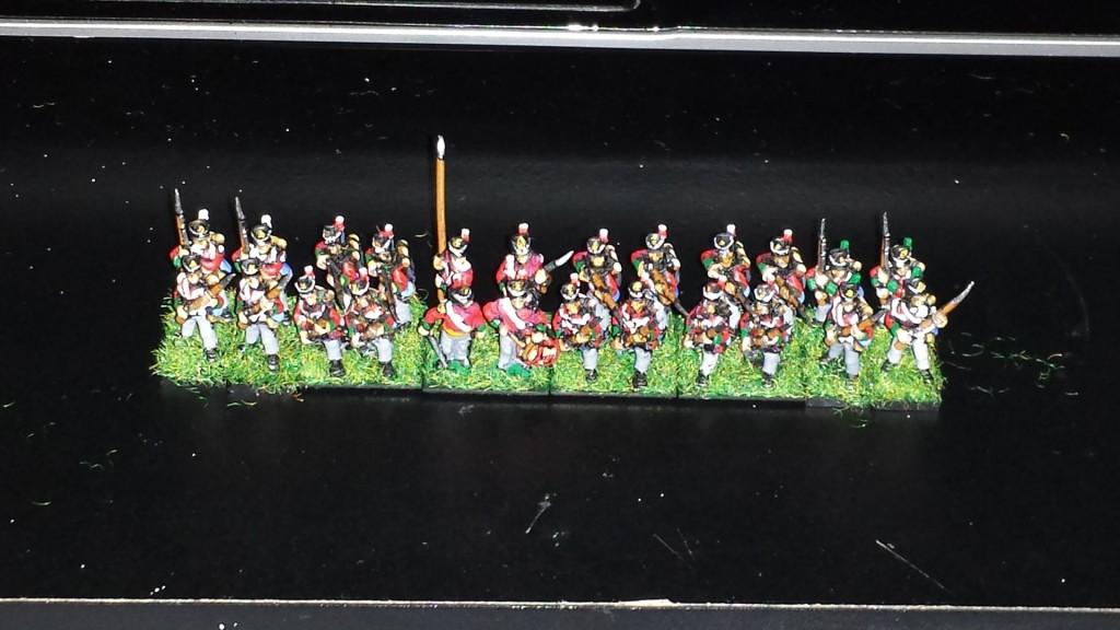 British Line Infantry c. 1814