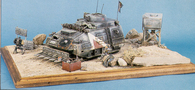 The Camel, Desert Ops Infantry Fighting Vehicle. Second Place Winner of the 1988 Golden Demon Awards (Scratch Built Vehicle Category)