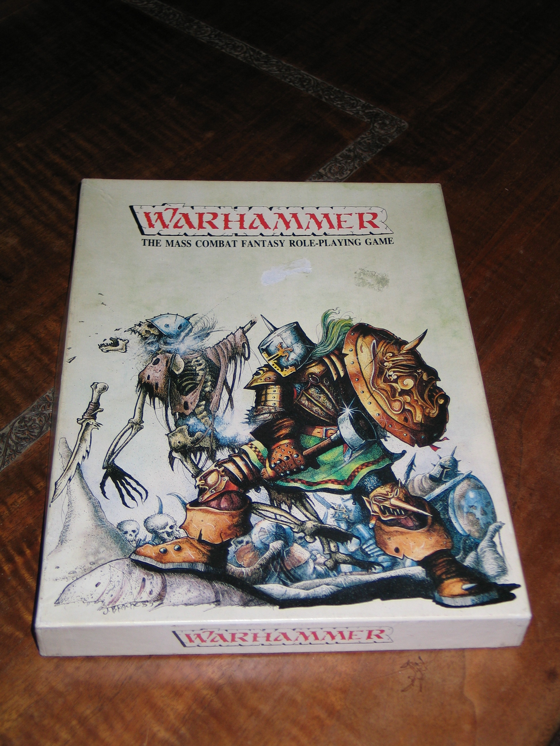 Warhammer 1st Edition - Box Art