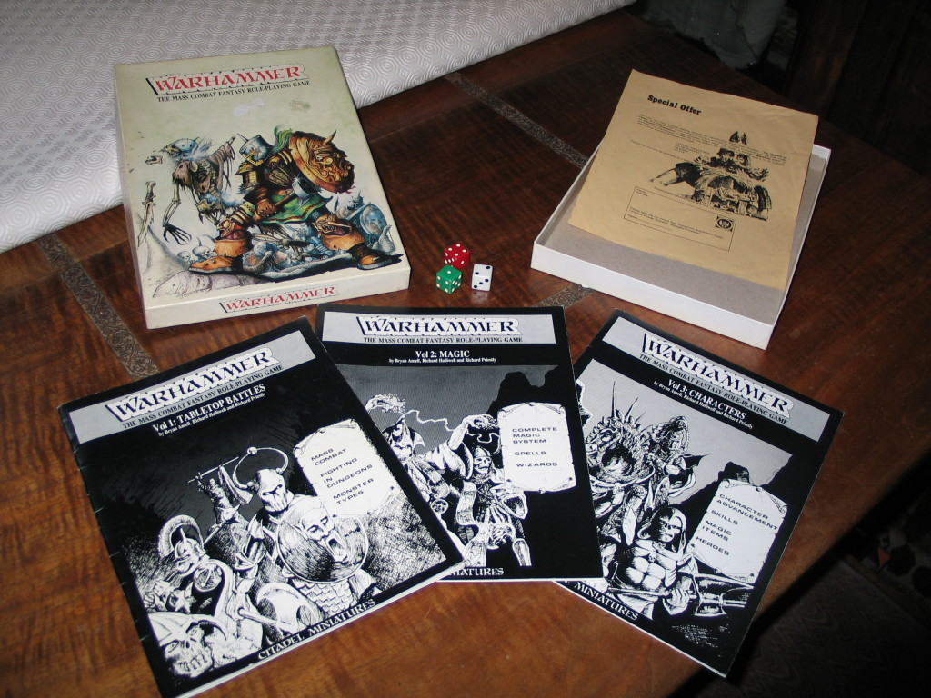 Warhammer 1st Edition - What's In The Box
