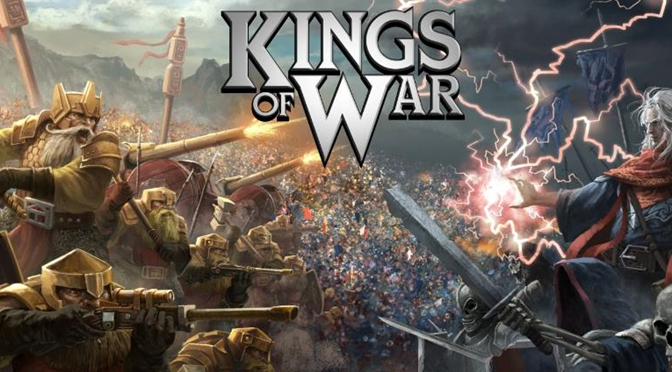 The First Dwarves – A Kings of War Test Army